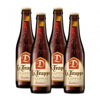 Cerveza La Trappe Dubbel 330 ml. x 4