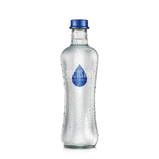 Socosani agua mineral natural con gas 350ml x 12