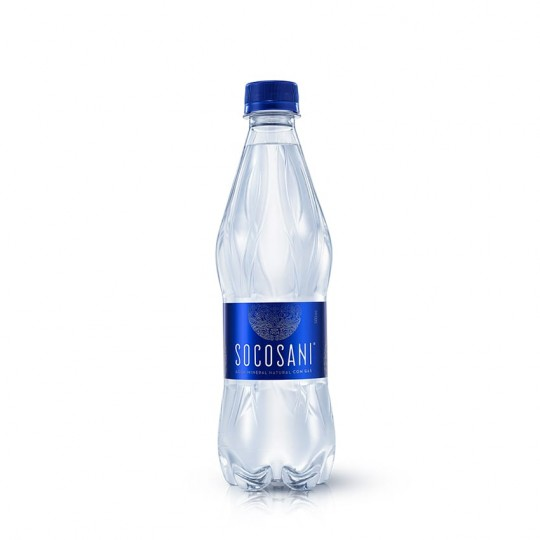 Socosani agua mineral natural con gas 500ml x 15