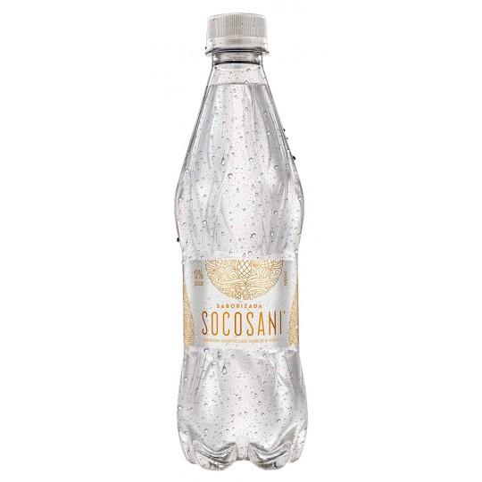 Socosani Agua sabor Piña Tropical 500ml x 12