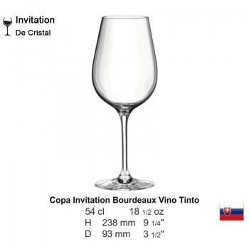 Copa Invitation Bourdeaux Vino Tinto 18 1/2 oz