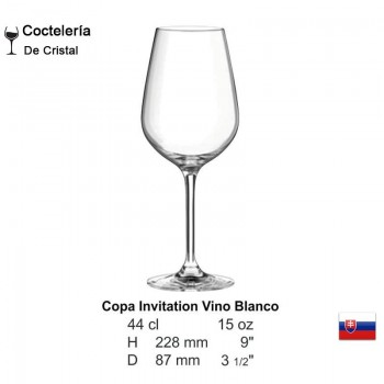 Copa Invitation Vino Blanco 15oz