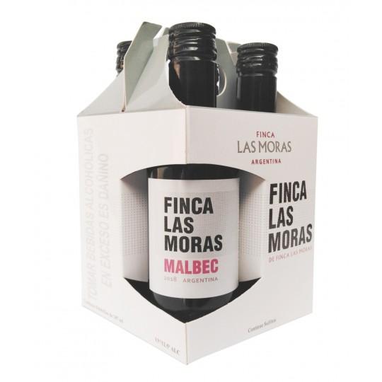Las Moras Malbec 4 x 187ml