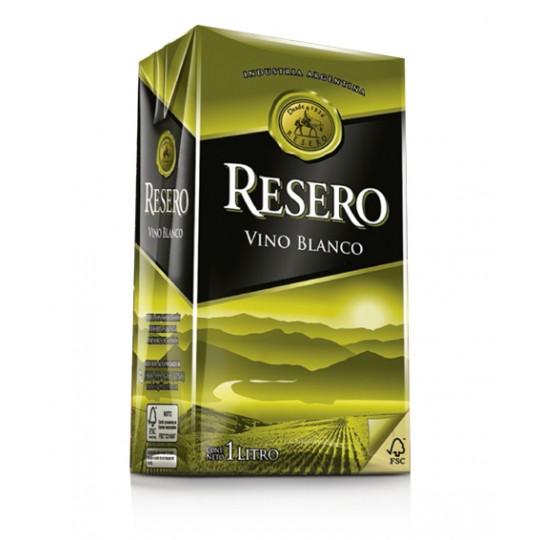Resero vino Blanco caja 1 Litro