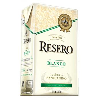 Resero vino Blanco caja 1L