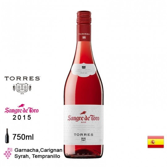 Torres Sangre de Toro Rosado 750ml